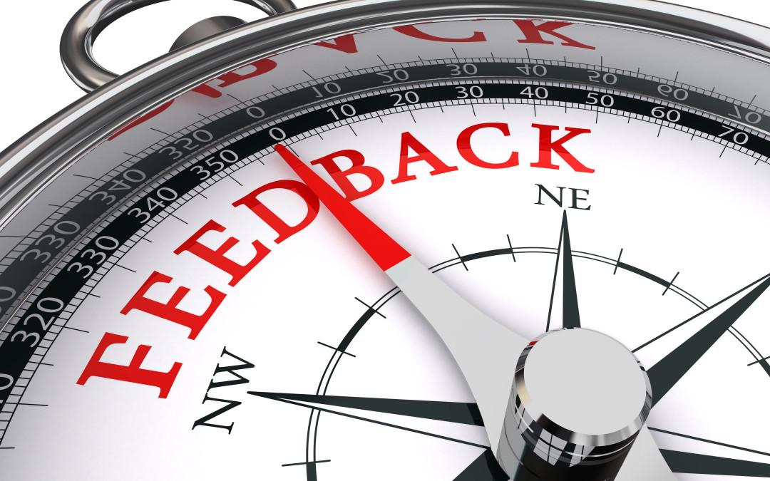Give feedback effectively